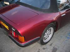 Bodywork repairs to TVR Sportscar #2