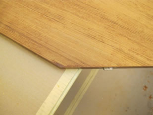 Super Yacht Expanding Table Varnishing #25